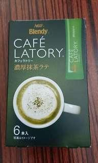 Cafe Latory Matcha latte