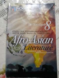 Grade 8 ENGLISH Kto12 textbook - Communication Arts & Skills through Afro-asian Literature
