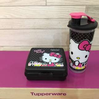 Tupperware Hello Kitty set