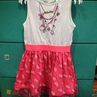 H&M Hello Kitty Sleeveless Tutu Dress