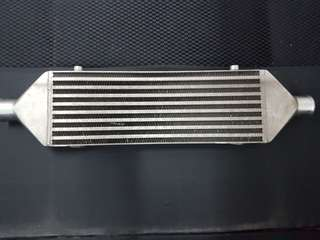 Intercooler for turbo car