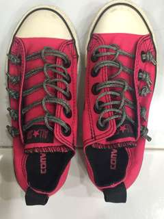 Converse shoes for girl size 12.
