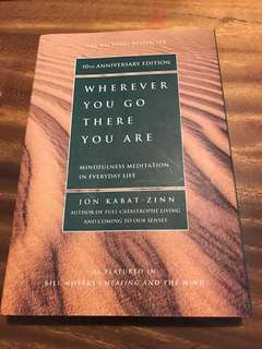 Jon kabat zinn: wherever you go, there you are book