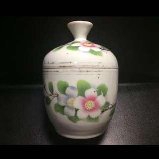 聽雨樓:#MSH-0011:【民國】刷花榮興發號款糖缸一套
