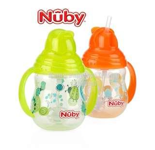 NUBY 360 Flip N Sip Straw cup
