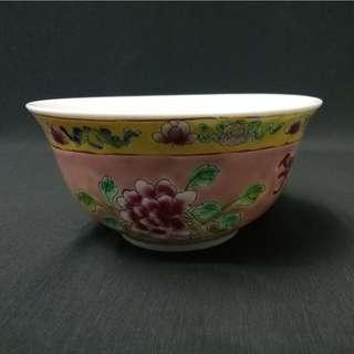 Pink Nyonya Dining Bowl