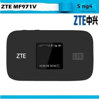 🚚 4G MIFI ZTE MF971V (4G 300mbps 32WIFI Share Max 11hr)