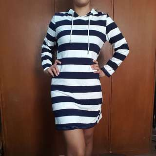 Hoodie Cotton Dress