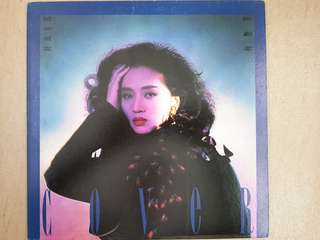Hong Kong super star Anita Mui 1990 vinyl rare cover girl 梅艷芳 Cover girl 1990 黑膠唱片