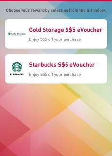 30% off $10 Starbucks eVoucher
