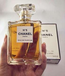 chanel no 5 BOX SeGEL ORIGINAL
