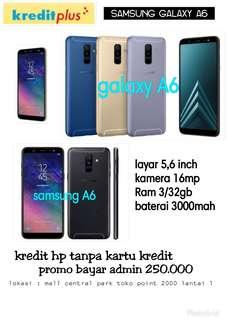 Samsung a6 kredit tanpa kartu kredit