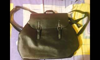 Parisian Synthetic Leather Backpack