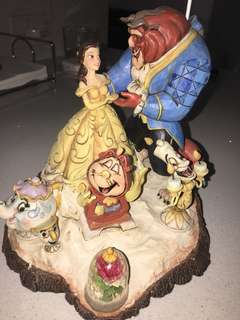 """Disney Beauty & the Beast """"tale as old as time"""" collectible"""