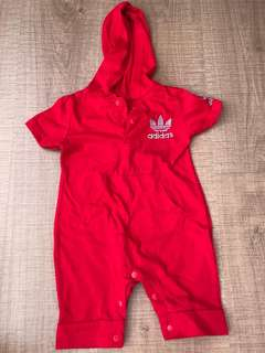Christmas cny red baby 18m