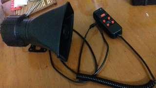 Speaker walkie talkie