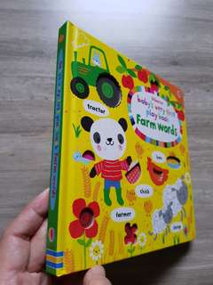 Usborne Baby's Very First Play Book - Farm Words