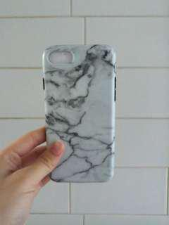 Matte White Marble iPhone 7/8 Case
