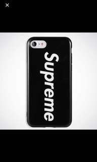 Iphone 6/6s+ supreme black