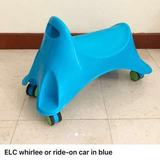 Early Learning Centre Whirlee Ride-On, Blue