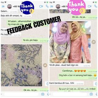 FEEDBACK CUSTOMER