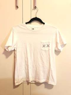 Uniqlo x KAWS collection white t shirt