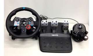 Logitech G29 Wheel + Shift
