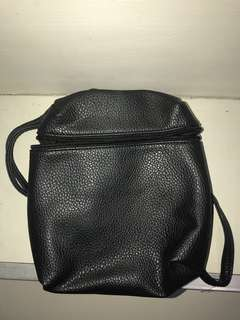 Parisian Small Backpack in Black