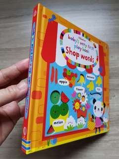 Usborne Baby's Very First Play Book- SHop Words