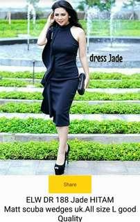 Dress jade hitam