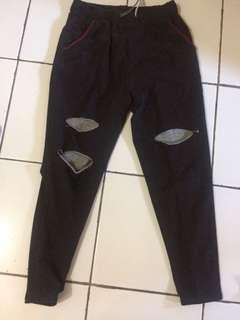 Celana pants sobek