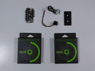 🚚 Gamemax 120mm RGB fan 2 pak with Rgb controller