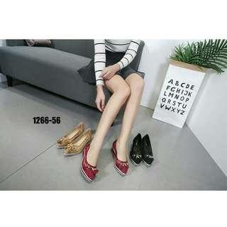 [MONNA VANIA STELLA WEDGES 1266-56] Sepatu Fashion Wanita Impor Murah