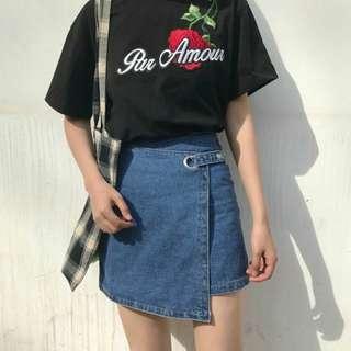 Denim Skirt, fits size M