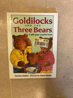 Children's book - Goldilocks & the Three Bears