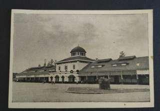Post card original Stasiun Tawang - Semarang.