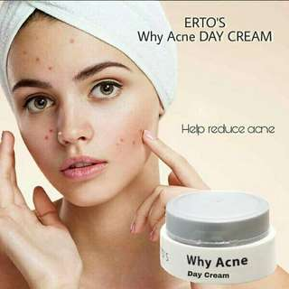 Cream acne siang Ertos