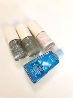 Innisfree Nail Polish & Bath and Body Works Hand Sanitizer