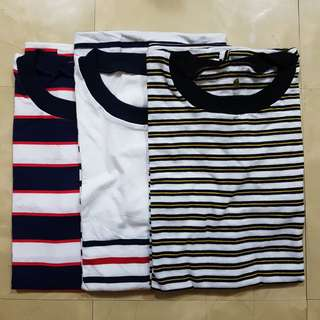 Plus Size Unisex Stripes Shirt (S-XL)