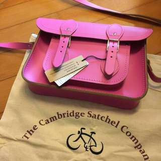 The Cambridge Satchel company leather bag皮袋