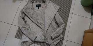 🚚 小碼)BCBG 造型顯瘦卡其外套