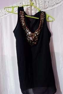 Jeweled Sleeveless Top