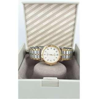 【Jessica潔西卡小舖】簡潔時尚CITIZEN 星辰石英腕錶,附原裝錶盒及多於錶節