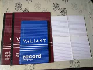 Valiant Book and 1/4 Pad