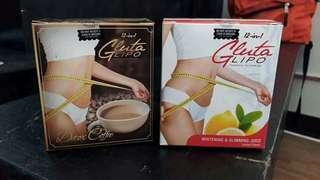 GLUTA LIPO JUICE & GLUTA LIPO DETOX COFFEE