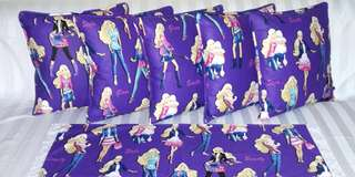 Sarung Bantal Kursi Beauty Barbie