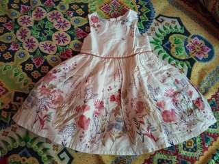 Preloved primark baby dress