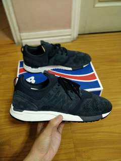 New balance 247 navy suede size 11 US