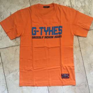 Orange Grizzly Shirt