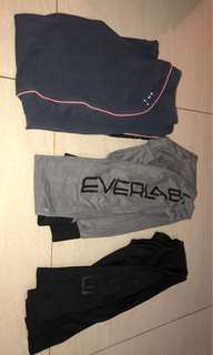 Puma and everlast thights